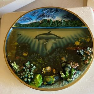 A Discovery Off Anahola 1995 vintage plate